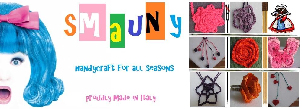 Smauny e le sue creazioni artigianali all'uncinetto,maglia, cucito e tanto altro