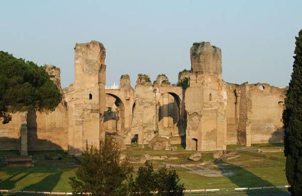 visite guidate x bambini Roma: Terme di Caracalla e sotterranei