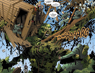 Swamp Thing from DC Comics Bombshells #15