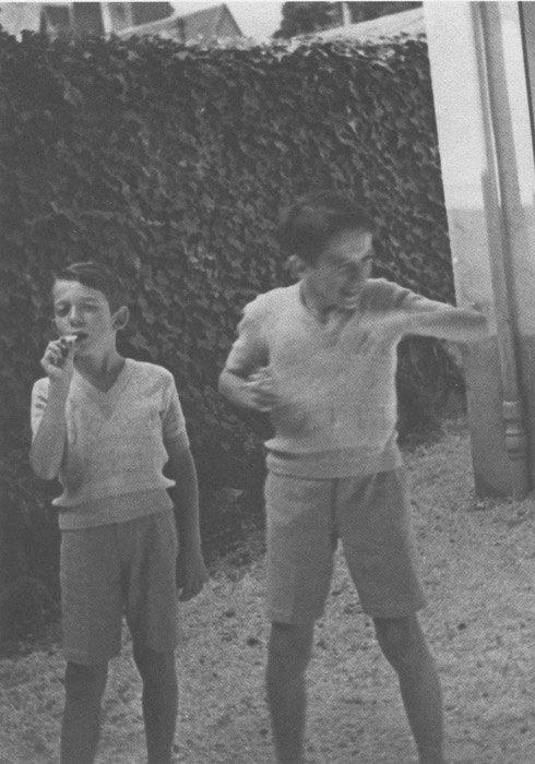 Gilles Deleuze et Georges Deleuze 1934