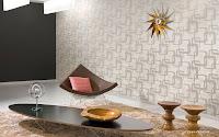 Tapet textil- lux- colectia Lounge de la Calcutta - pret TAPET- montaj tapet