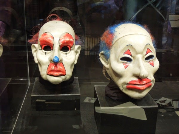 Dark Knight Joker henchmen clown masks