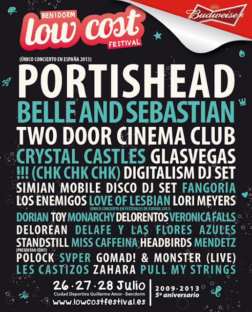 Portishead - Low Cost Festival 2013