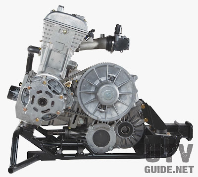 Arctic Cat Wildcat Trail 700cc engine