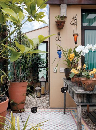 Querido Refúgio  Blog de decoração Um jardim caipira e rústico