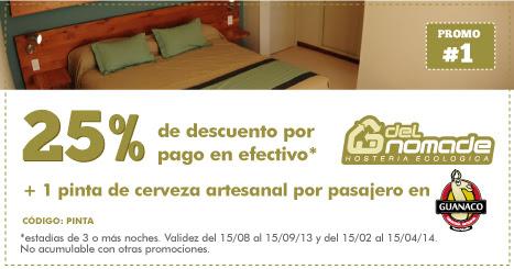 Eco Posada de promoção - Peninsula Valdes 2013 - 2014n a Patagonia Argentina