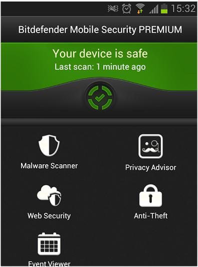 Bitdefender Mobile security Premium free 1 Year License