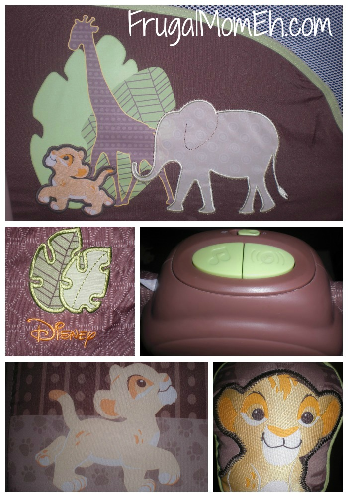 Disney Baby Lion King Premier Washable Playard by @InGenuitybaby