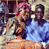 PHOTO: GHANAIAN ACTRESS YVONNE NELSON HANGOUT WITH AKON ON SET...WEARING MULTI-BATIK AFRICAN PRINT