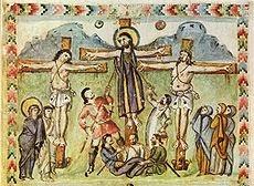 Wat Spear of Destiny betekent - Holy Lance - Crucifixion - Meister_des_Rabula-Evangelium