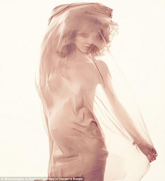 Eva Herzigova Harper's Bazaar