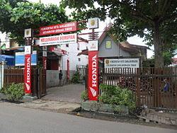 Kantor Kelurahan Kuripan Kecamatan Banjarmasin Timur Kota Banjarmasin Kalimantan Selatan