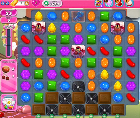 Candy Crush Saga 1054