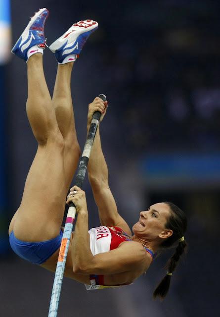 isinbayeva sexy legs