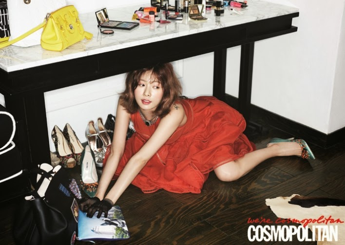 Hyuna 4minute - Cosmopolitan Magazine March Issue 2014
