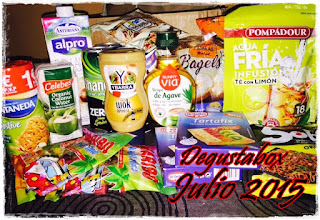 Degustabox julio 2015