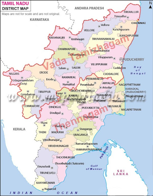 Tamil nadu-Seperation