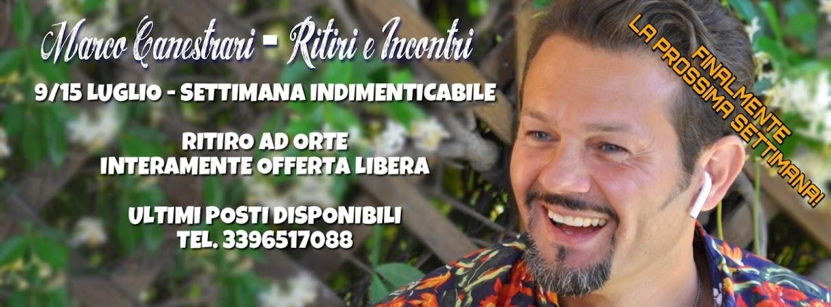 Marco Canestrari - Ritiri ed Eventi