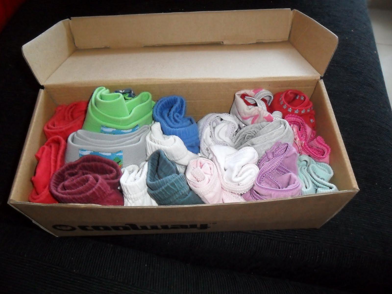 El ba l del reciclaje organizador de ropa interior - Organizador de ropa interior ...