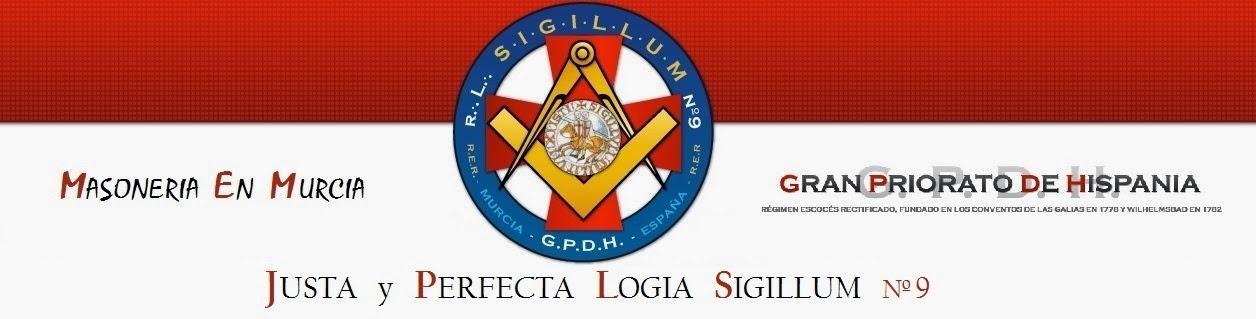 Logia Masonica Cristiana de Murcia SIGILLUM nº9