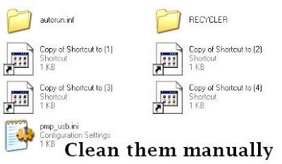 Membersihkan Virus Shortcut