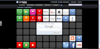 A screen shot of my symbaloo account
