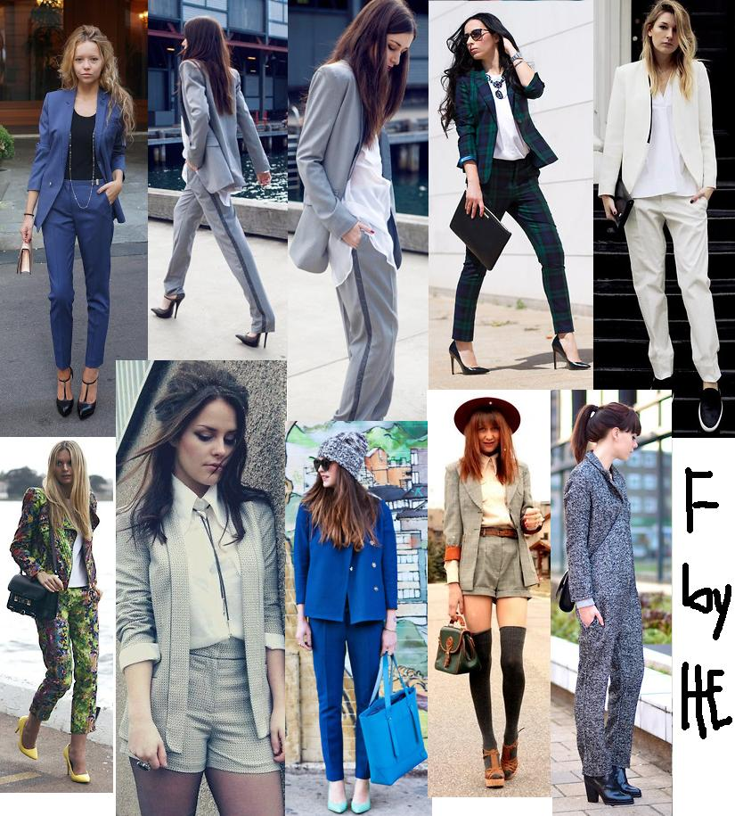 Blogger Trend: Chicks in Suits... | Unic Fashion