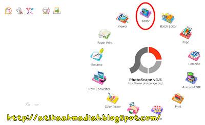 Tutorial, Tutorial Blog, Tutorial Banner Award, Banner, Award, Cara nak buat Banner, Cara nak buat Award, Photoscape, Download Photoscape, Cara nak Guna Photoscape