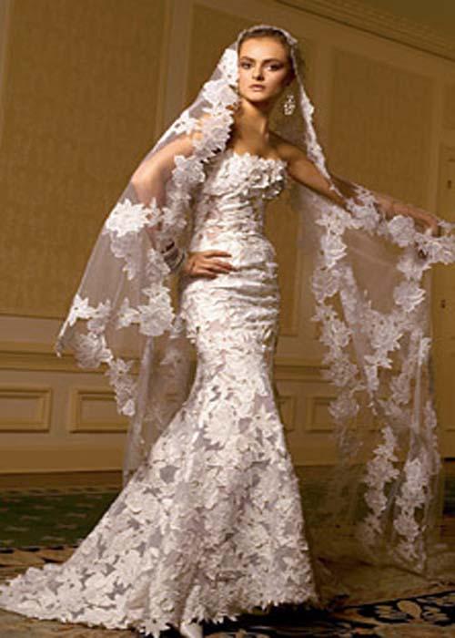 2850b81b9c74 Wedding Themes - Wedding Style: Romantic Mermaid Wedding Dress