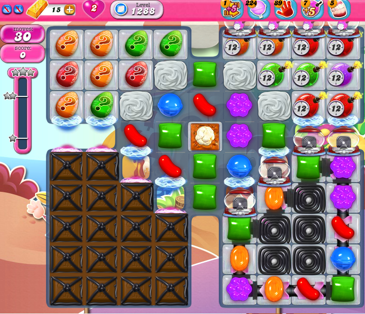 Candy Crush Saga 1288
