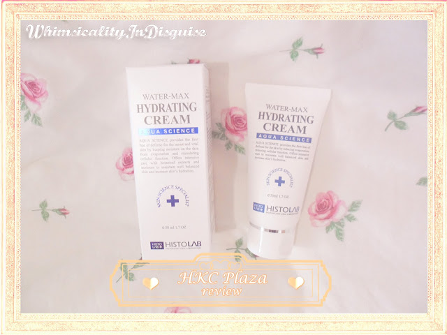 Histolab Water-Max Hydrating Cream review