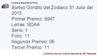 loteria-nacional-gordito-del-zodiaco-31-de-julio-2015-resultados