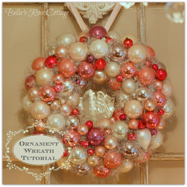 Ornament Wreath Tutorial