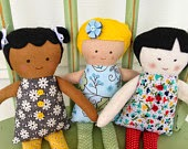 A Button and a Stitch:  Diversity Dolls