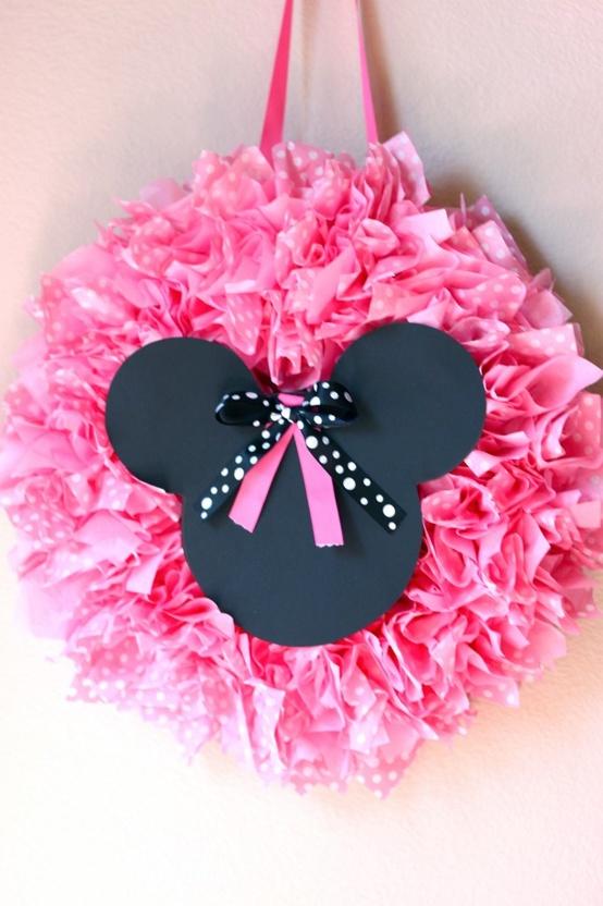Dicas pra Festas Infantis Ideias para decorar a festa da Minnie
