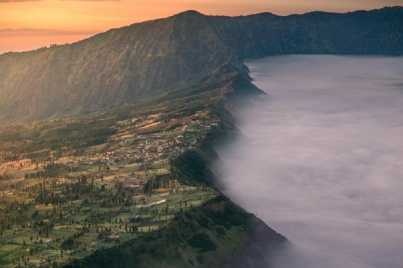 Tiny towns Chemoro Lawang, Indonesia
