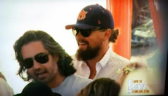 Leonardo DiCaprio showed up to a Coachella pool party in his Auburn hat