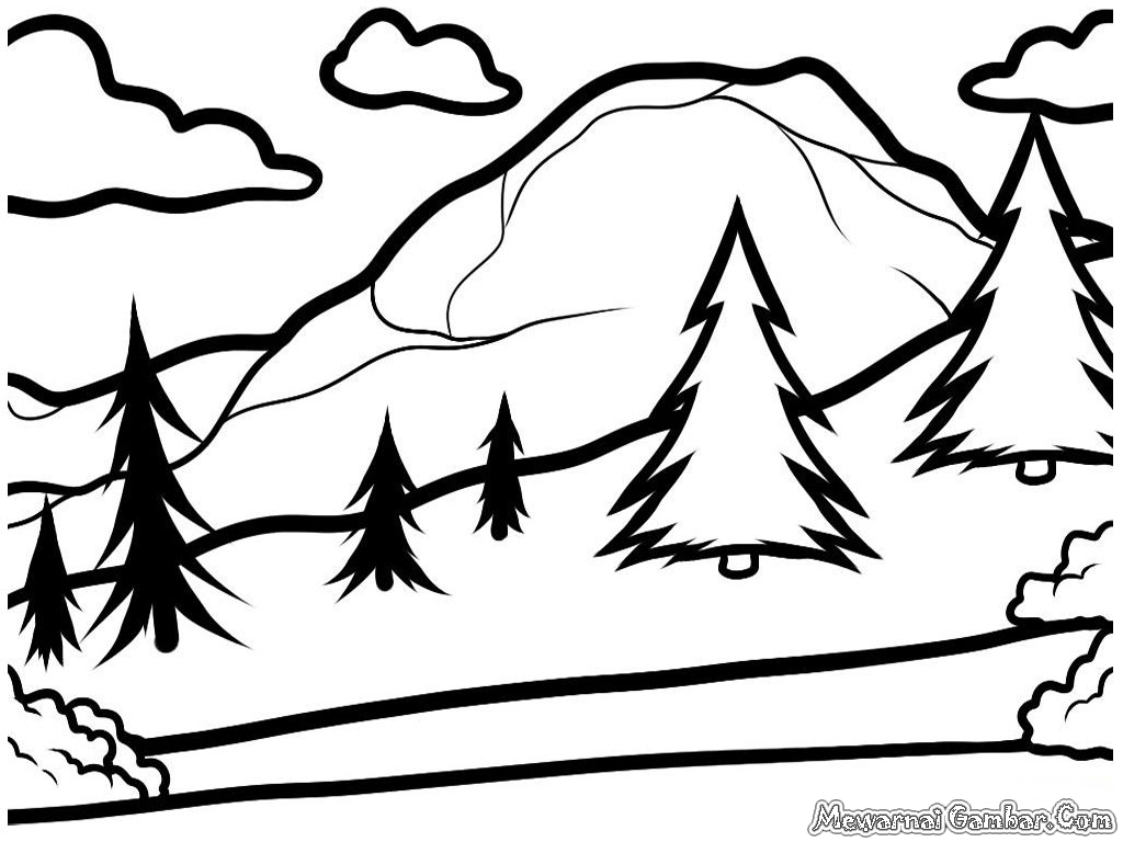 How to Draw a Landscape Step by Step for Kids