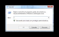 Ativando Comando Executar no Windows 7