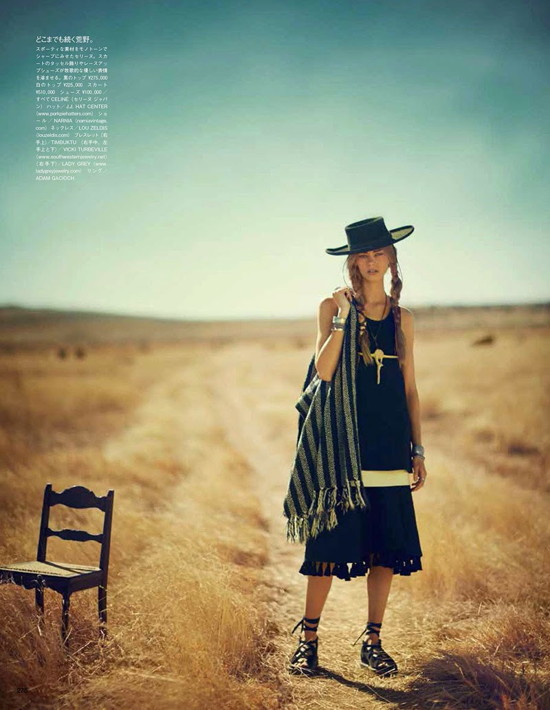 The Coming Of The Wind Talkers (VOGUE JAPAN) MAY 2014