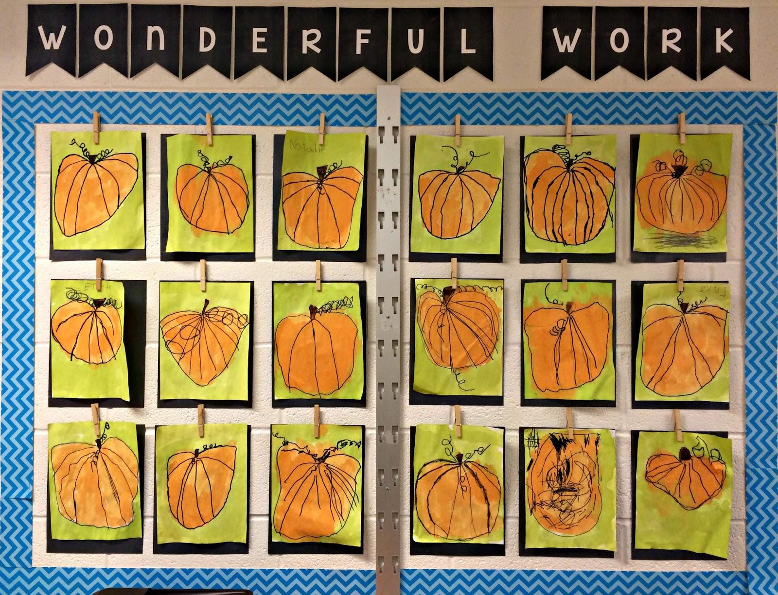 pumpkin directed drawings kteachertiff