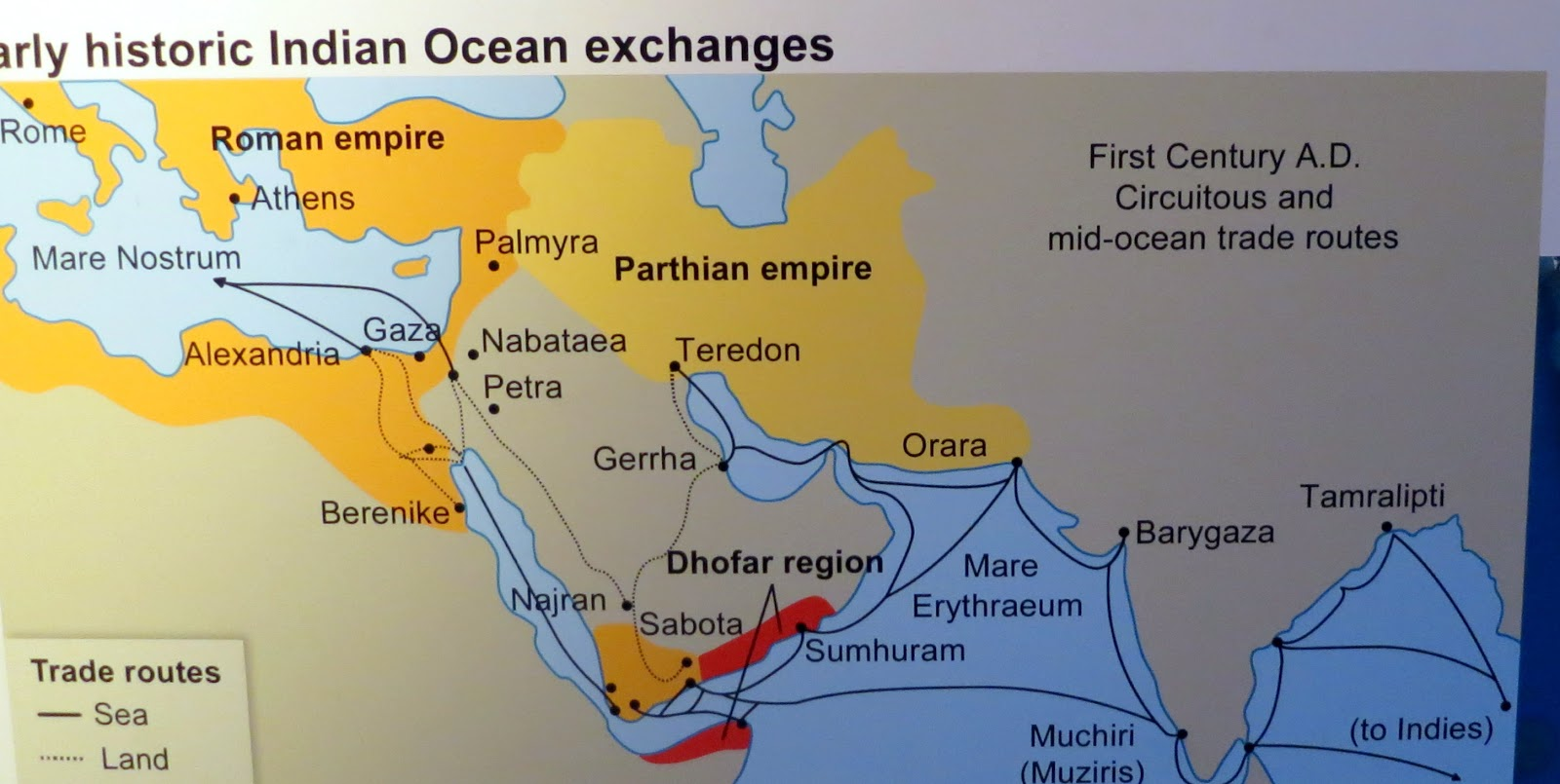 historic contacts between roman empire and indian