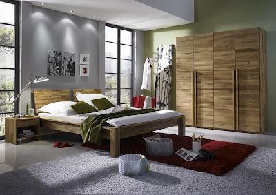 habitación diseño oriental