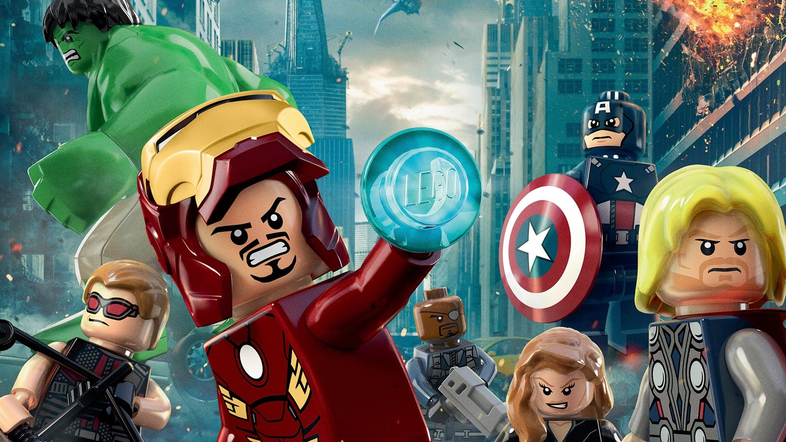 Desktop Wallpaper Avengers Lego Funny Desktop Wallpaper