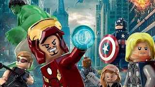 Avengers Lego Funny Desktop Wallpaper