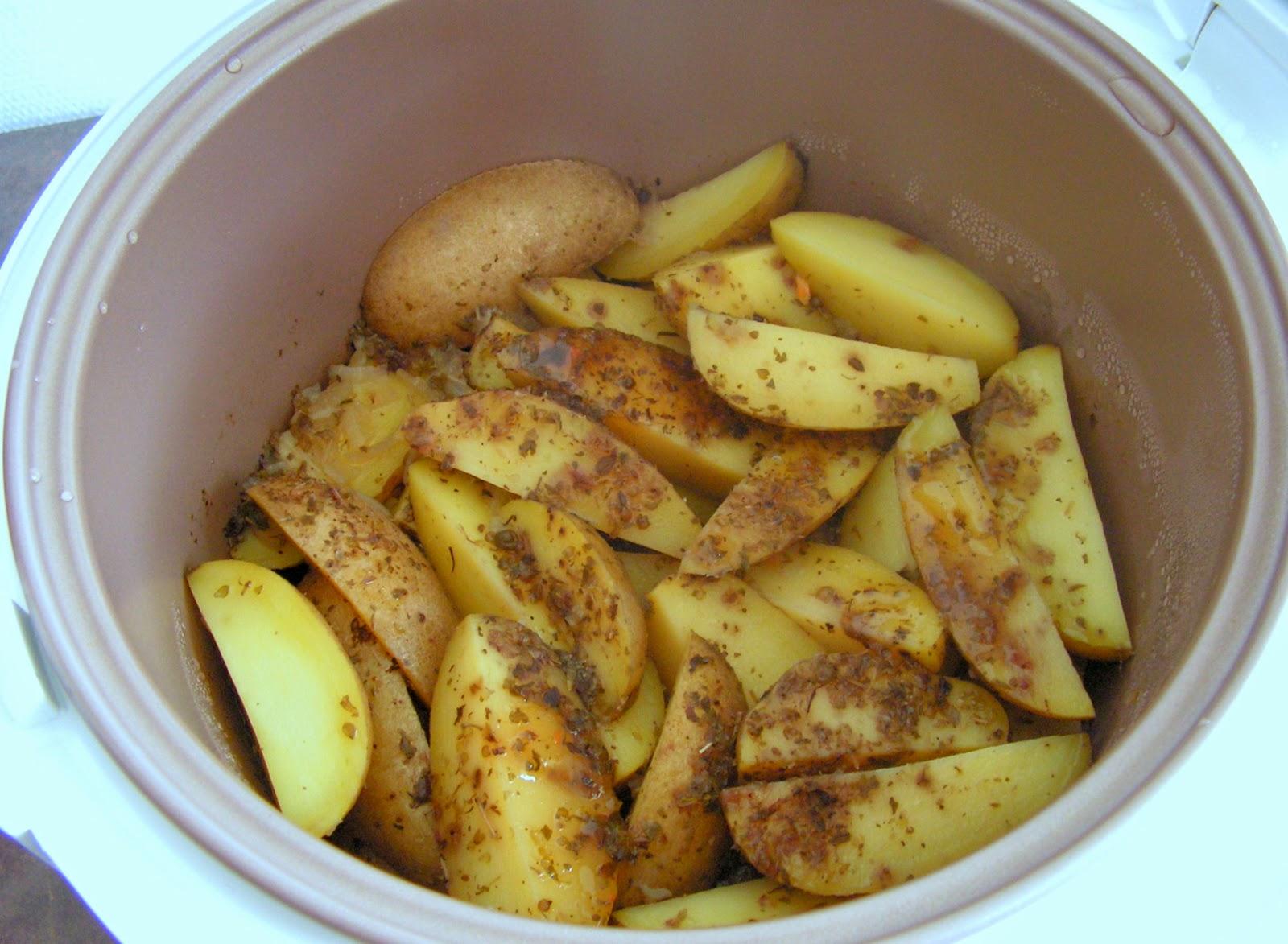 Les gourmandises de lydie pommes de terre au cuiseur riz - Riz au cuiseur vapeur ...