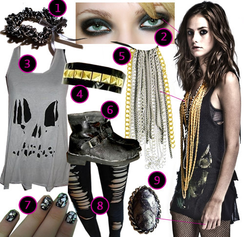 How to Dress and Look Like Effy Stonem