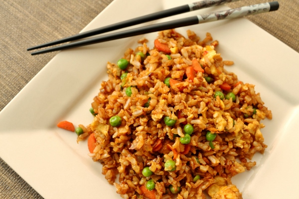 Mission food february 2015 spicy vegetable fried rice ccuart Choice Image