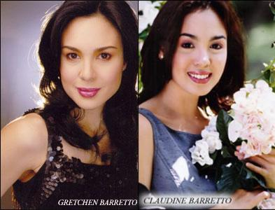 Celebrity sisters Gretchen and Claudine Barretto have ended their year