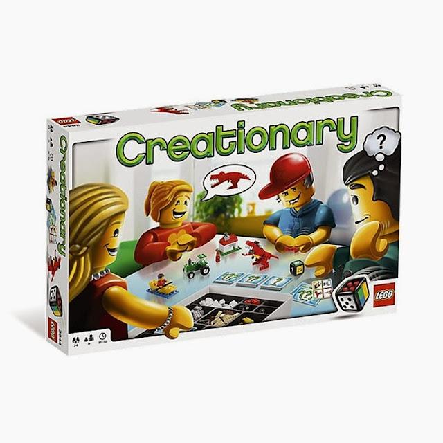 Juego Creationary de LEGO